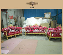 2014 living room silver sofa suite was made from rubber wood