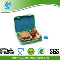 Leakproof PP Bento Lunch Box With Lock