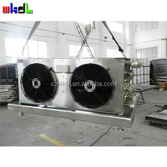 industrial aluminum fin tube heat exchanger air cooled oil cooler for chemical industry