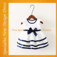 New arrival 2 year old girl dress lovely baby girl new dress short fancy dress for girls SA-308