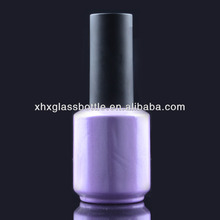 Round Uv Gel Glass Bottle For Nail Polish Wholesale 15Ml