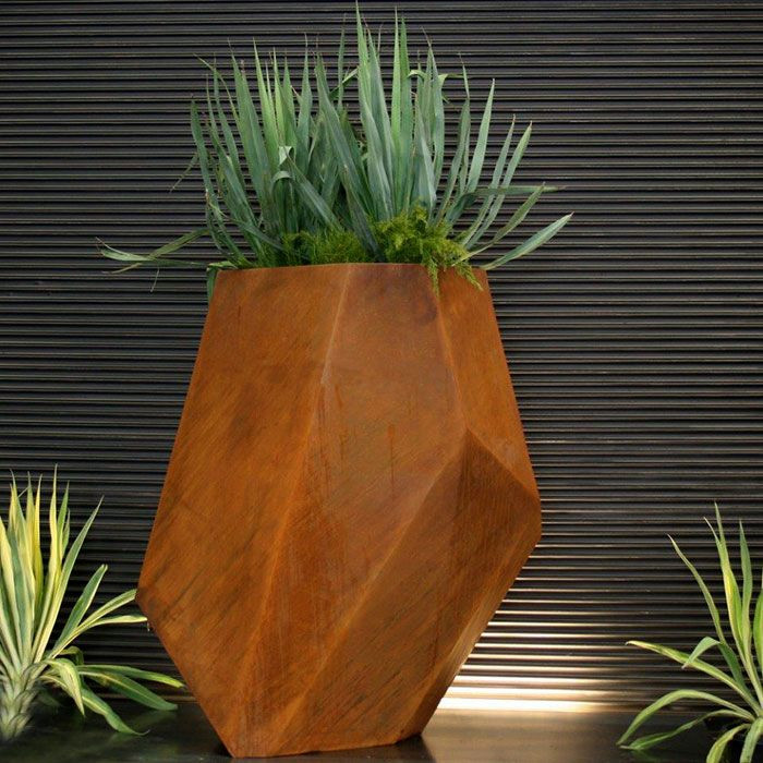 Wholesale cheap corten flower pots pot garden pots for nursery