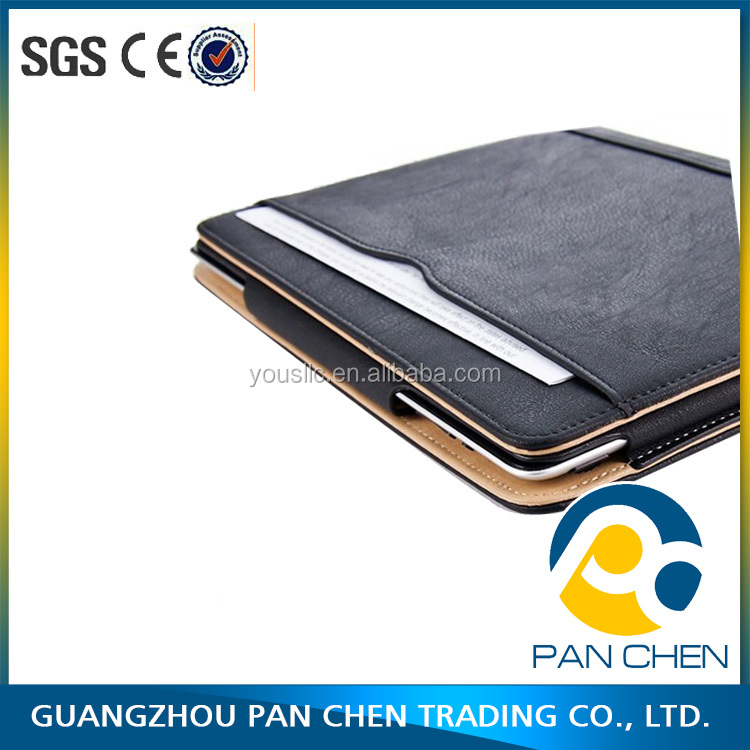 Durable and high quality PU leather tablet cover case / tablet leather case for Ipad 2 3 4 air pro