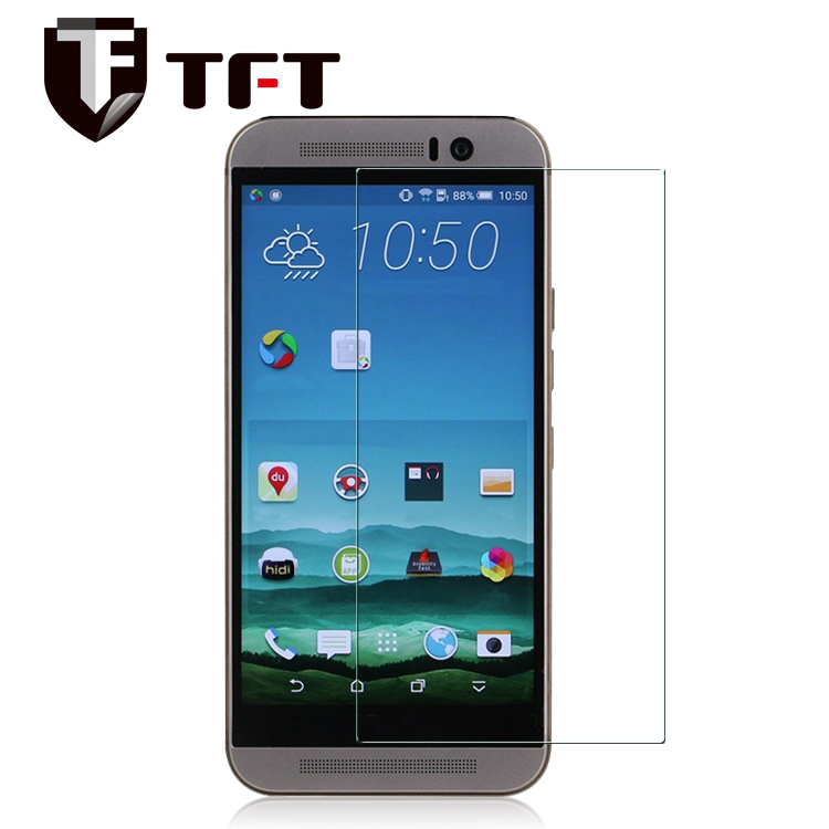 0.33mm/2.5D 9H high quality clear tempered glass screen protector for HTC M9