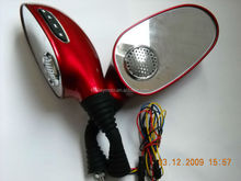 12V Mp3 Player Motorcycle Rear- View Mirror