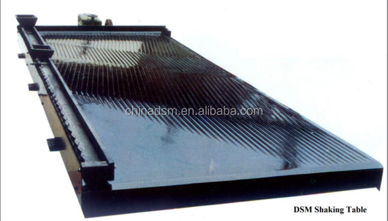 China 6-S vibration shaker table for gold separation