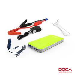 8000mAh Multifunction Jump Start Type and CE FCC ROHS Certification portable jump starter