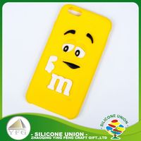 Safety custom cartoon logo silicone cell phone case cover