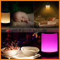 Support Aux TF Card Colorful Night Light Outdoor Bluetooth LED Lamp Speaker