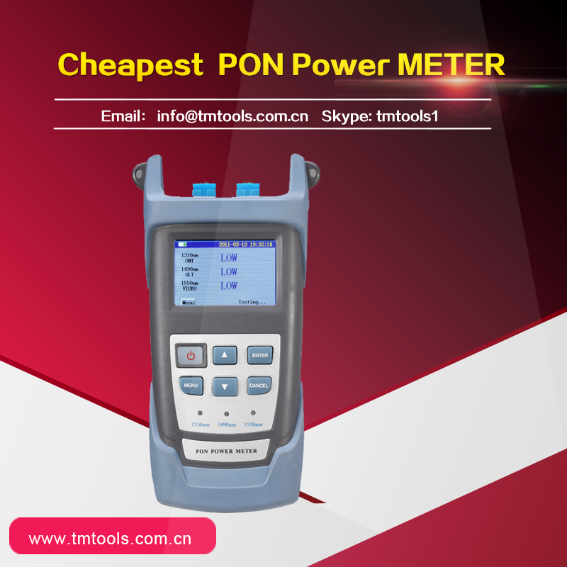 Good quality and Cheapest price Fiber Optic RY3201 PON Power Meter