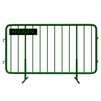 2018 top quality portable crowd barrier/aluminum crowd control barrier/concert crowd barrier for event