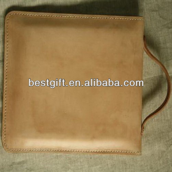 Simple stylish high quality leather tablet sleeve for 9.7 inch tablet case