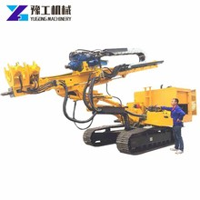 Hign Efficiency Professional Open-pit Crawler Type Downhole Drills For Sale Crawler Drilling Rig For Digging Holes