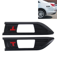 Hot Selling 2 PCS Car Side Air Intake Flow Vent Fender Decorative Car Stickers Cover
