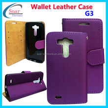 For lg G3 manufacturing cell phone leather case made in China