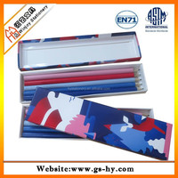 Big quantity bulk cargo hb pencil with paper box
