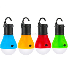 Soft Light Outdoor Portable Led Lantern Tent Light Bulb Fishing Camping Flashlight Led tent light