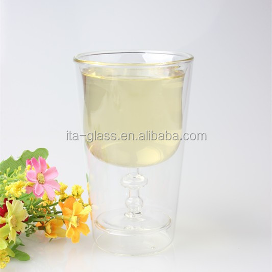 party home decoration 200ml dinnerware set clear pyrex cup murano green tea wine beer coffee milk drinking glass mug without lid