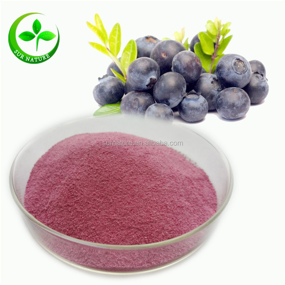 Natural Organic Freeze Dried Blueberry Concentrated Juice Powder