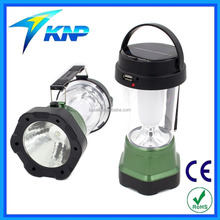 New Design Multifunction Solar Rechargeable Camping Lantern