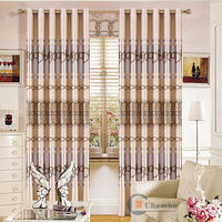 China simple curtains for living room whole home curtains