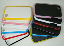 for Q10 case BlackBerry Q10 case with dual color PC TPU