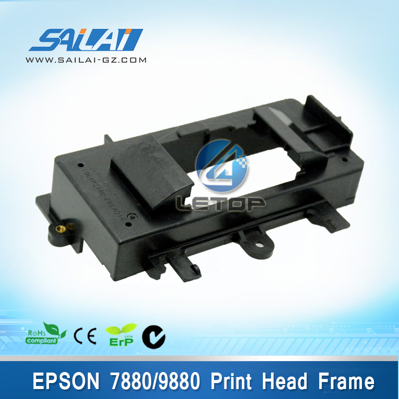 printer spare parts 7880 9880 printer dx5 printhead plastic frame/head frame