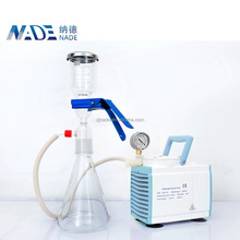 500ml laboratory Glass funnel Vacuum filter Solvent filtration apparatus