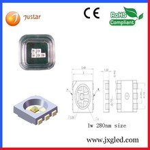 diodo para alternador 280nm 310nm led with ce rohs certificate