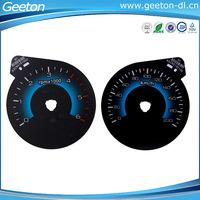 Waterproof Polycarbonate 2D Digital Automotive Instrument Cluster Auto Meter