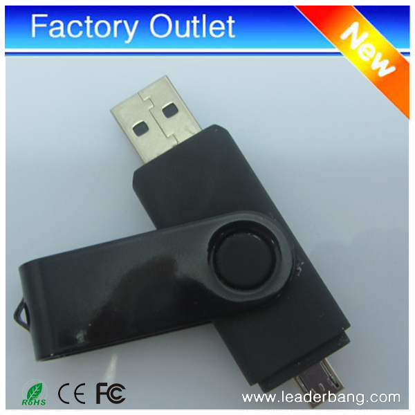 2017 new products OTG/dual ports usb <strong>flash</strong> drive 16GB for android phone