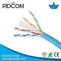 utp cat 6 cable lszh /new pvc 23AWG network cable