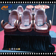 Luxury 9 seats 7D cinema hydraulic/electric system