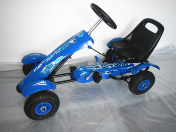 four wheels kids pedal go kart DF120