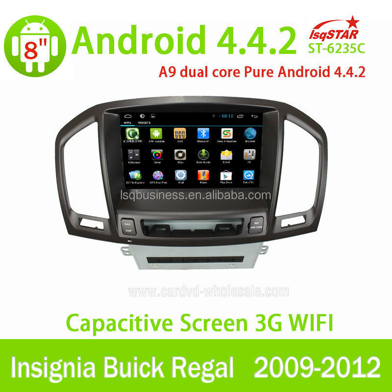 In dash Capacitive Android 4.4 OPEL Insignia Car DVD Radio GPS Navigation with OBD BT 3G WiFi Multi-touch CPU 1.5GHZ ROM 8G