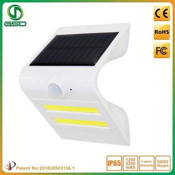 Wholesale price wireless solar security light