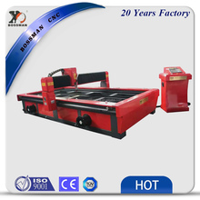 Bossman new table type CNC plasma and flame cutting machine exported to United Kingdom