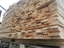 Kiln Dry Rubberwood Sawn Timber for Furniture manufacturer