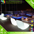 Plastic bar chair multicolors changing battery power illuminated led apple shaped chair