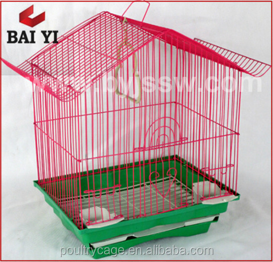 BAIYI Brand Foldable Metal Wire Bird Cages/ Bird Breeding House/ Parrot Cage