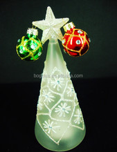 Fancy glass tree for decoration