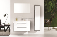 Morden MDF Wall Mounted Basin Cabinet(Aurora-1000)