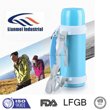 LFGB FDA high quality stainless steel vacuum travel pot keep hot and cold with tape, Best electric water kettle thermal switch