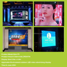 multiple tv cheap price p3.91mm p4.81mm rental l with super light indoor p7.62 full color led display screen