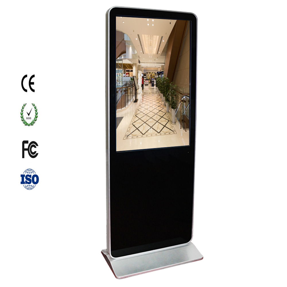 Manufacturer 42 inch lcd display full HD 3g wifi advertising stand