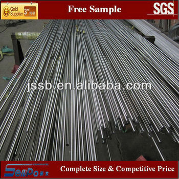 ASTM A276 AISI 301 Stainless steel bright round bar/steel rods manufacture direct sale (material 201,304,316,304L,316L,321,310S)