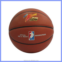 high quality rubber ball basketball size 7