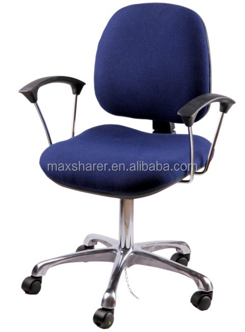 Shenzhen brand factory Maxsharer adjustable esd fabric chair ESD chair for electronic factory