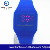 Reloj Silicona LED Silicone Light Up Watch