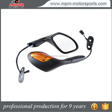 LED Motorcycle Rearview Side Mirror with LED Turn Signal